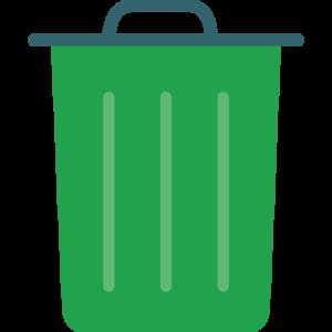 Mettre son argent à la poubelle